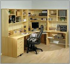 Corner Office Desk With Hutch Corner Home Office Desk Zcdh Me