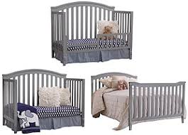 Convertible Cribs Reviews Sorelle Berkley 4 In 1 Convertible Crib Grey Babies R Us