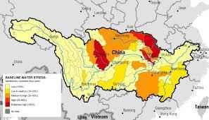 world rivers map shapefile yangtze river basin study world resources institute