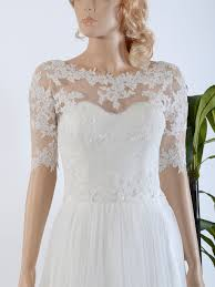 wedding dress with bolero bridal bolero lace wj020