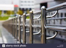 chrome banister rails chromium metal fence with handrail chrome plated metal railings