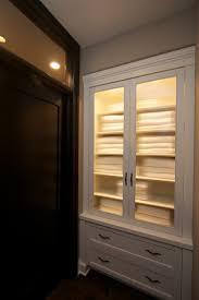 built in hallway cabinets robeson design built in hallway closet towel storage and linen storage