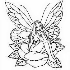 Fairy And Flower Tattoo Designs 34 Fairy Tattoos Stencils