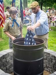 Eagle Scout Flag Acton Boy Scout Builds Fire Pit For Retiring Us Flags Cbs Boston