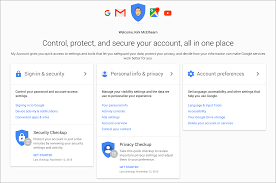 how to manage gmail and google security and privacy settings the