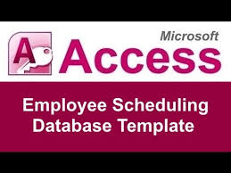 Free Employee Database Template In Excel by Microsoft Access Employee Scheduling Database Template