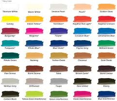 chroma airbrush paint new color chart with more colors added kv