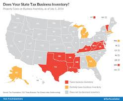 Where Is Washington Dc Located On The Map by Does Your State Tax Business Inventory Tax Foundation