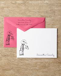 personalized correspondence cards horchow