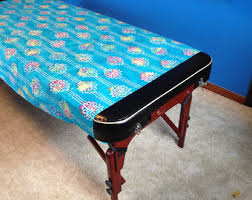 massage table decorative covers massage table cover etsy