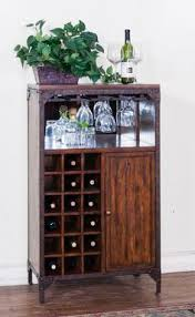 Distressed Wood Bar Cabinet Savannah Collection Antique Charcoal Finish Wood Bar Armoire