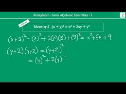 cbse class 8 maths algebraic identities ncert u0026 q u0026a