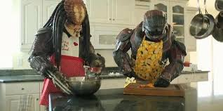 Seeking Aliens What On Earth Would A Predator And Master Chief Be Cooking In The