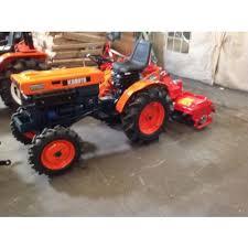 siege pour micro tracteur kubota microtracteur diesel kubota 14 cv 4 rm avec fraise rotavator neuve