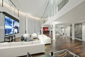 white sofas of luxury penthouse nyc apartments applied on the