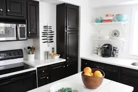 Dark Stained Kitchen Cabinets by Black Stained Kitchen Cabinets