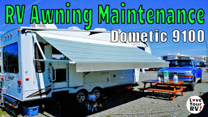Weatherpro Power Awning Rv Power Awning Super Easy Maintenance Howto Youtube