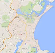 Massachusetts City Map by Revere Massachusetts Map