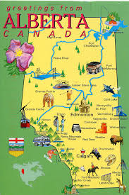 A Map Of Canada by Alberta Canada Map Family Owns Land In This Sector Of Canada