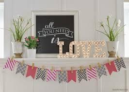 15 beautiful valentine u0027s day mantel ideas my mommy style