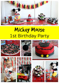 mickey mouse birthday mickey mouse 1st birthday party stilettos diapers