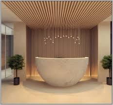 Oval Reception Desk Interior Curved Reception Desk Freestanding Oval Bathtub White