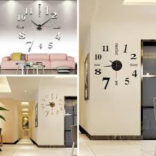 Wohnzimmer Deko Kaufen Diy Deko 3d Stylisch Design Wanduhr Wohnzimmer Wanduhr Jpg