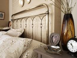 serene shilton 5ft king size antique brass metal bed frame with