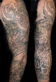 full sleeve firefighter tattoo design tattoos book