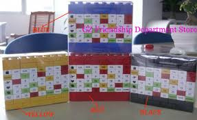 great gifts for birthday 300pcs lot diy calendar perpetual diy advent calendar great gifts