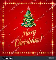 design christmas sale template christmas tree stock vector