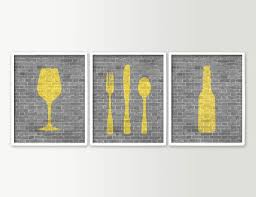 Kitchen Wall Decorating Ideas Themes Decorating Fabulous Metal Kitchen Wall Decor In Four Frame With