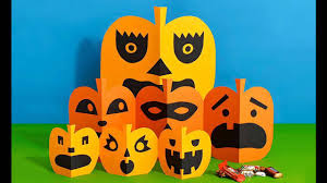 awesome halloween paper crafts for kids youtube