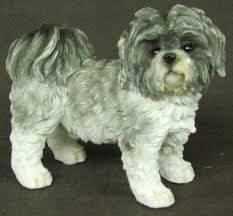 leonardo collection shihtzu ornament grey co