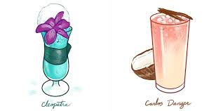 mixed drink clipart nyc u0027s best holiday cocktails illustrated cool hunting