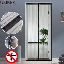 Magnetic Fly Screen For French Doors by Insect Door Guard U0026 Magic Curtain Door Mesh Magnetic Fastening