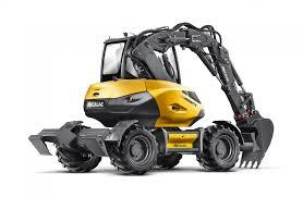 wheel excavators mecalac 9mwr