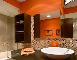brown bathroom ideas orange and brown bathroom ideas