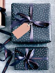 copper wrapping paper the best new christmas wrapping papers christmas interiors