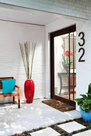 glass door number signs elegant house number signs showing off modern metal designs