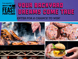 your backyard dreams come true giveaway feast portland