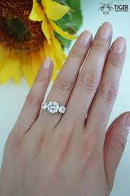 3 engagement ring best 25 3 carat ideas on 3 carat diamond ring 3