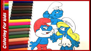 activity sheets for kids how to color the smurfs coloring pages
