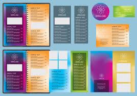 gradients menu templates download free vector art stock