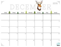 printable december 2016 calendar pdf cute and crafty 2018 calendar printable calendars merry and december