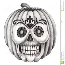 halloween pumpkin pencil drawing u2013 festival collections