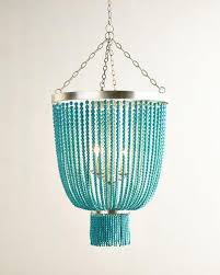 turquoise beaded chandelier turquoise bead 4 light chandelier home decor diy 2017 daily