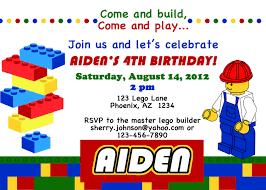 Design Your Own Invitations Lego Birthday Party Invitations Iidaemilia Com