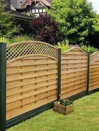 Curved Trellis Fence Panels Fence Panels Decking Gates And Fencing Supplies From The