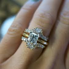 engagement ring enhancers 13 best wedding ring images on engagement